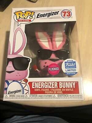 Funko Pop! Ad Icons - Energizer Bunny (Flocked) Vinyl Figure