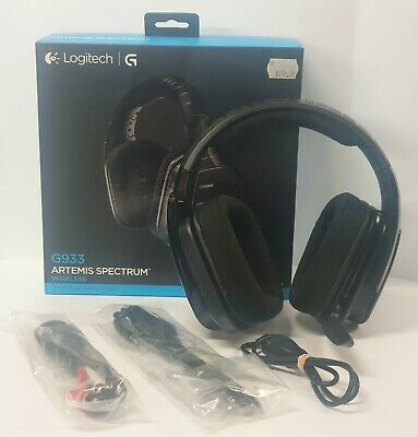 Logitech G933 Artemis Spectrum Wireless Gaming Headset With Noise-Cancelling Mic