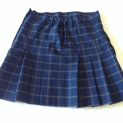 3x MOUNT GAMBIER HIGH SCHOOL GIRLS UNIFORM SKIRTS - SIZE 14