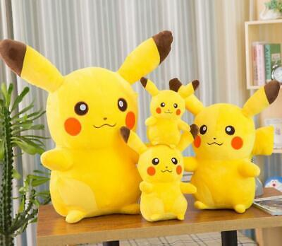 65cm Anime Pokemon Go Big Pikachu Soft Plush Toy Kids Stuffed Doll Gifts Xmas UK