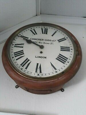 Camerer Cuss & Co Antique wall clock