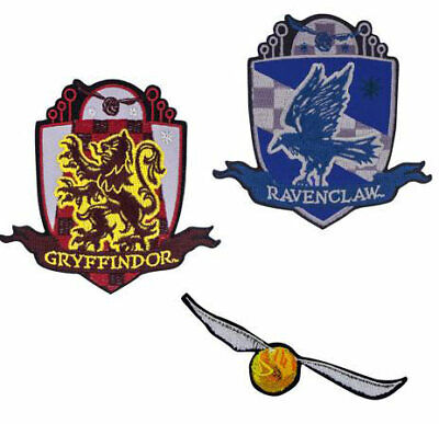 Pack 3 parches Harry Potter. Golden Snitch