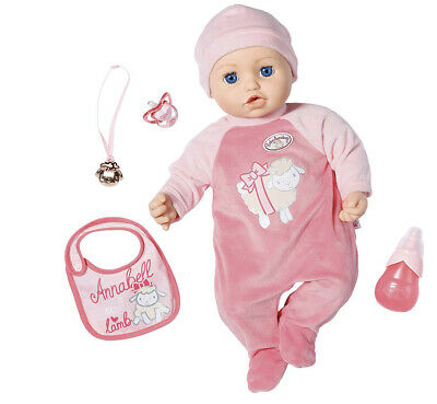 Baby Annabell Annabelle 43cm Doll with Sounds - 794999 NEW BOXED 99p START
