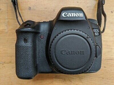 Canon EOS 6D 20.2MP Body, Intervalometer, VF, 5 Batteries, Shutter Count 111,674