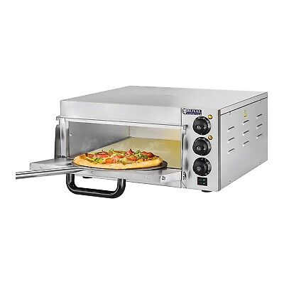 Royal Catering Pizza Oven 2000 W Electric Pizza Oven Baking Calzone Italian