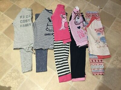 girls next & other pyjama & lounge bundle 7-8 years . all good condition