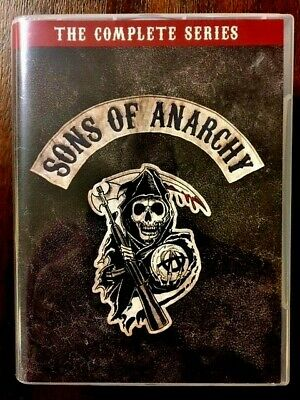 Sons Of Anarchy The Complete Series 2018  30 DVD SET! MInt