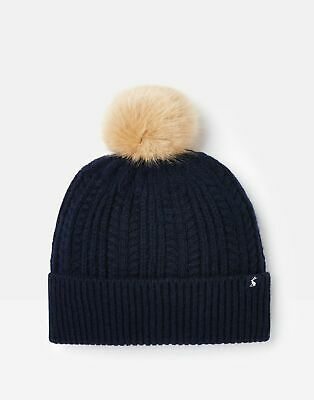 Joules 209247 Bobble Hat in FRENCH NAVY in One Size