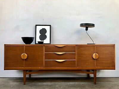 Vintage 60s Stonehill Teak Sideboard.Danish Retro Mid Century. G Plan. DELIVERY