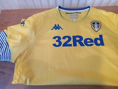 New Leeds United Away Football Shirt UK 4XL