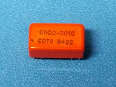 Qty 8 Coto Technology Relay 2600-0010, New