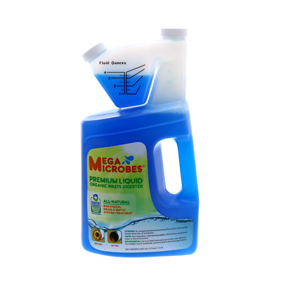 MegaMicrobes MML-64FL Liquid Premium Organic Waste Digester 64oz - single
