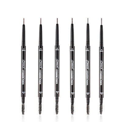 2X(Bsimone Double Ended Eyebrow Pencil Waterproof Long Lasting No Blooming Q1W1