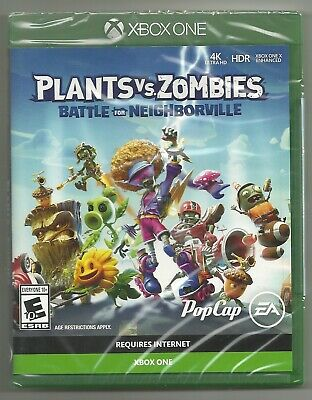Plants vs. Zombies Battle for Neighborville . BRAND NEW . sealed . Xbox One