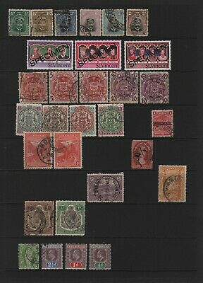 Selection Of British Commonwealth Stamps
