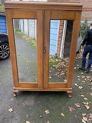 Antique Victorian Gentlemans Wardrobe