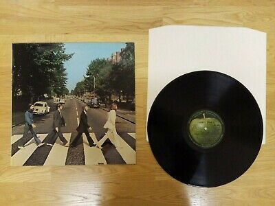 The Beatles - Abbey Road LP Vinyl Record - PCS 7088