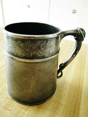 Meriden  Cup With Face Handle