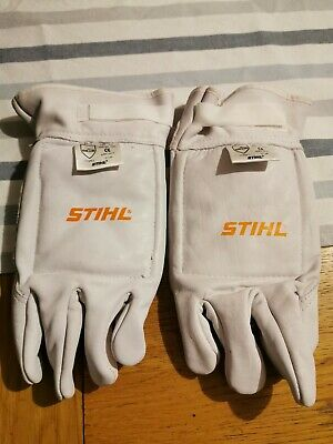 Stihl Class 1 Leather Chainsaw Gloves.  New without tags.