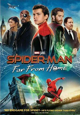 Spiderman:far From Home (New,2019,Dvd,Release) Spectacular,Action,Free Shipping.