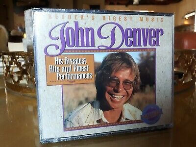 John Denver - His Greatest Hits and Finest Performances. 3 cd's. Factory sealed!