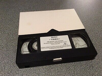 The Queen Mother, A Woman of her Century.  The Royal Collection VHS Video