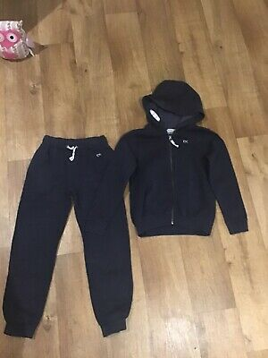 Next Girls Navy Blue Tracksuit  Age 9 Years Exc Condition