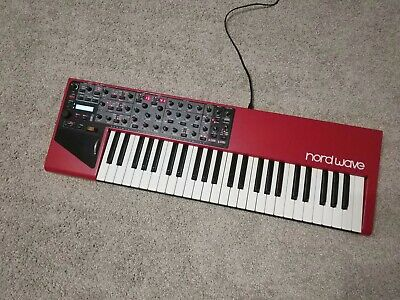 Clavia Nord Wave with Fatar TP/9S weighted keyboard