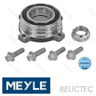 Wheel Bearing Kit fits BMW 523 E39 2.5 Rear 95 to 00 FAG 33411095652 33411095654