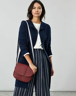 Joules Women Bridport Bright   Faux Leather Saddle Cross Body Bag in  in One
