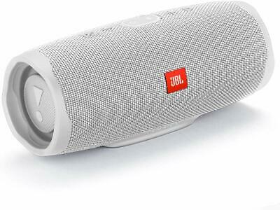 JBL Charge 4 Waterproof Portable Bluetooth Speaker- White -Brand New