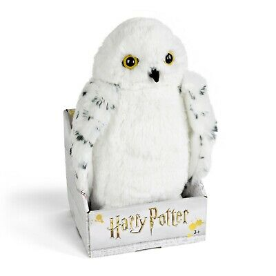 Brand New-Noble Collections Harry Potter Hedwig Plush-10.5 inches tall