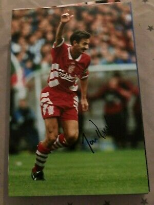 Ian Rush Liverpool Fc Reds 12X8 Hand Signed Photo Awesome!!