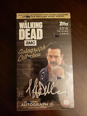 Topps 2018 Walking Dead Autograph Collection Cards