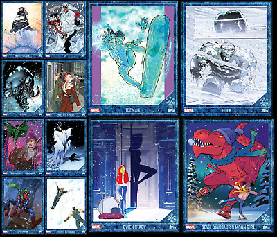 Topps Marvel Collect Card Trader Winter Wonderland [Set 12 Cards]