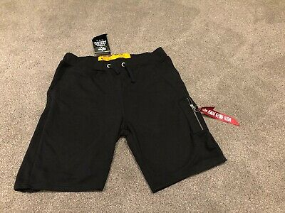 Alpha Industries Black Cargo Shorts. Mens XXL New With Tags
