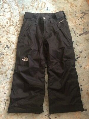 North Face boys black waterproof ski snow pants size XXS - age 4-5 yrs old