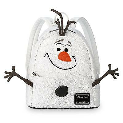 NWT Genuine Loungefly Frozen OLAF MINI BACKPACK Disney Parks Exclusive