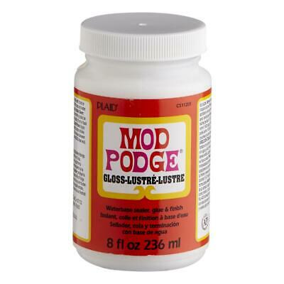 Plaid Mod Podge Gloss Lustre All in one Glue and Sealer in various sizes
