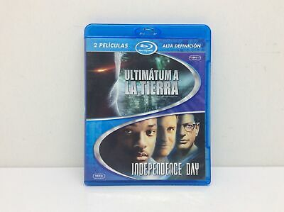 Pelicula Bluray Ultimatum A La Tierra E Independence Day 5352198