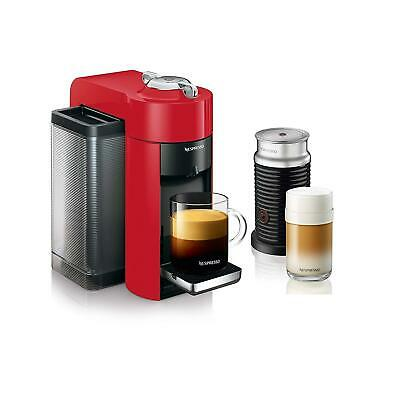 Nespresso Vertuo Espresso Machine with Aeroccino by De'Longhi
