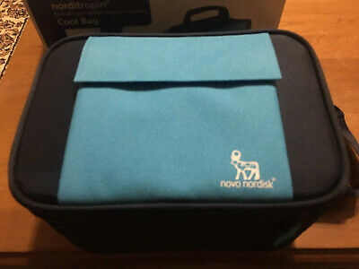 NIB Norditropin Cool Bag For Insulin Blue
