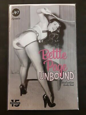 Bettie Page Unbound #1 D Cover VF//NM Comics Book