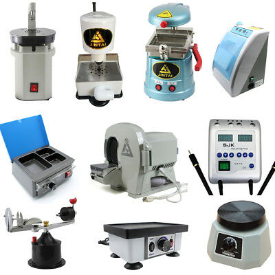 Dental Wet Model Trimmer, Square/Round Vibrator, Wax Heater, Lab Vacuum Former