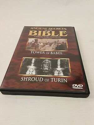 Ancient Secrets of the Bible #5: Tower of Babel/Shroud of Turin (DVD, 2000)