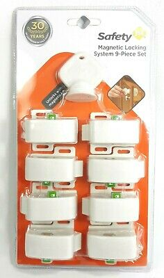 Safety First Magnetic Locking System 9 Piece Set HS133