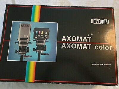 Meopta Axomat 5 Photographic Enlarger Black and White Unused with Lens and Timer