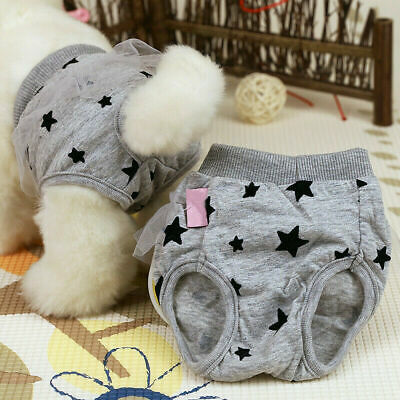 Pet Dog Physiological Pants Dog Shorts Cat Underwear Puppy Cute Diaper Lace