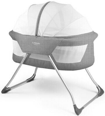 Perfect Condition Sunbury Cocoon Bassinet with Mesh netting for outdoor use