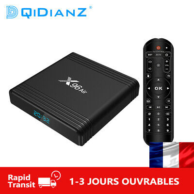 X96 AIR android 9.0 TV Box Amlogic S905X3 2.4G/5G Wifi 8K HDR Mini Set Top Box